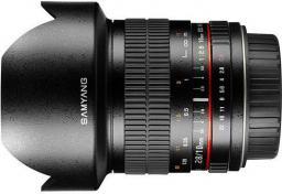 Obiektyw Samyang 10mm F2.8 Canon Czarny (F1120401101)