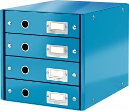 Leitz Pojemnik, szafka Leitz Click & Store z 4 szufladami Niebieski  (10K269C)