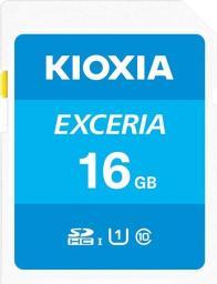 Karta Kioxia Exceria SDHC 16 GB Class 10 UHS-I/U1  (LNEX1L016GG4)