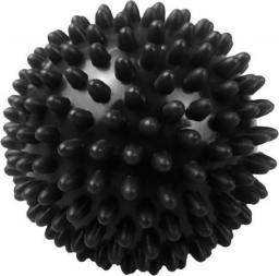 Eb Fit Piłeczka z kolcami do masażu 9cm czarna