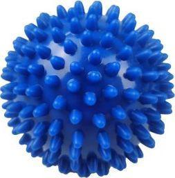 Eb Fit Piłeczka z kolcami do masażu 9cm niebieska