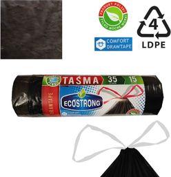 Sipeko Worki na śmieci taśmą 23mik Ldpe 35l 15szt.