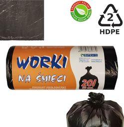 Sipeko Worki na śmieci 6mik Hdpe 20l 50szt.