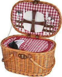 Cilio Kosz piknikowy Cilio Riva dla 2 osób 45 x 31 x 25 cm jasny brąz