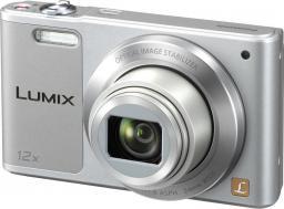 Aparat cyfrowy Panasonic Lumix DMC-SZ10 Srebrny (DMC-SZ10EG-S)