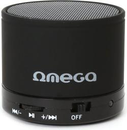 Głośnik Omega OG47B Alu Bluetooth V30 Czarny (42643)