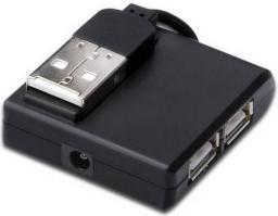HUB USB Digitus USB2.0, 4xUSB (DA-70217)