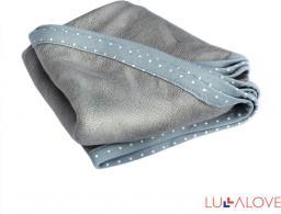 LullaLove supeRRO newborn, kokon i pieluszka w jednym, Szary, 70x70cm (LLV_P_SU_N_G)