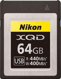 Karta Nikon MC-XQ64G XQD 64 GB  (VWC00101)