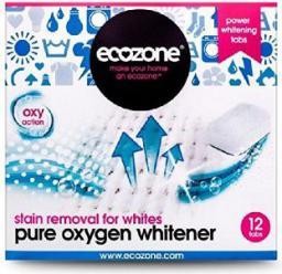 Ecozone Odplamiacz do białego Pure Oxygen 12 tabletek (ECZ07359)