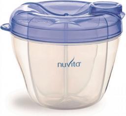 Nuvita Pojemnik na mleko (4 przegródki), niebieski (NUV1461B)