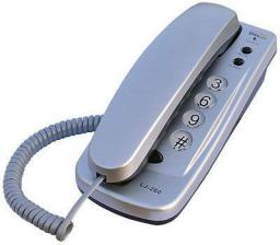 Telefon przewodowy Dartel Tel. LJ-260 Dartel srebrny