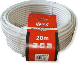 Przewód CORAB Antenowy, 20, Biały