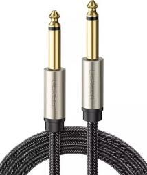 Kabel Ugreen Jack 6.3mm  - Jack 6.3mm 1m szary (10636)
