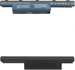 Bateria Qoltec Acer Aspire 4741 AS10D31, Czarny (52538.AS10D31-H)
