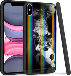 Mojworld Etui Rainbow Series na Apple iPhone XS Max Dog with ball