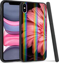 Mojworld Etui Rainbow Series na Apple iPhone XS Max Pink flower