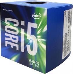 Procesor Intel Core i5-6400, 2.7GHz, 6MB, BOX (BX80662I56400)