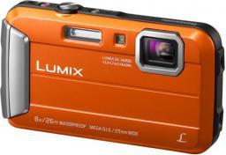 Aparat cyfrowy Panasonic DMC-FT30 Pomarańczowy