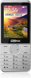 Telefon komórkowy Maxcom MM 235 Srebrny (DualSIM)