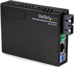Konwerter światłowodowy StarTech MCM110SC2EU