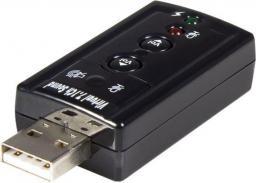 Karta dźwiękowa StarTech USB Audio 7.1 (ICUSBAUDIO7)