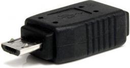Adapter USB StarTech USB 2.0 Mini USB-micro USB Czarny (UUSBMUSBMF)