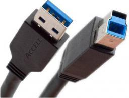 Kabel USB InLine USB 3.0 A/B, 5m (35350)