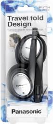 Słuchawki Panasonic RP-HT 030 E-S silver (RPHT030ES)