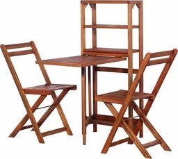 Elior Zestaw drewnianych mebli ogrodowych - Jill (E4524)