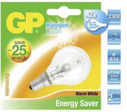 GP Battery Żarówka halogenowa E14, 46W (60W), ciepła biała, 700 lm (046677-HLME1)