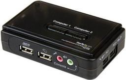 Przełącznik StarTech 2-port USB/Audio SV211KUSB (SV211KUSB)