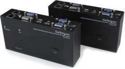Przełącznik StarTech USB Dual VGA ofer CAT5, 200m (SV565DUTPU)