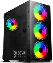 Obudowa Savio Prime X1 ARGB Glass (SAVGC-PRIMEX1)