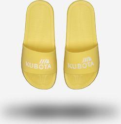 Kubota Klapki Kubota Basenowe Basic Żółte 41