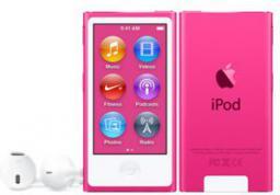Odtwarzacz MP4 Apple iPod Nano 16GB Różowy (MKMV2PL/A)
