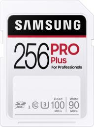 Karta Samsung PRO Plus SDXC 256 GB Class 10 UHS-I/U3  (MB-SD256H/EU)