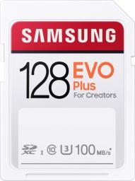 Karta Samsung Evo Plus SDXC 128 GB Class 10 UHS-I/U3  (MB-SC128H/EU)