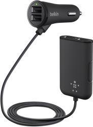 Ładowarka Belkin Road Rockstar 4-Port USB (F8M935BT06-BLK)