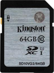 Karta Kingston 64GB SDXC Class 10 (SD10VG2/64GB)