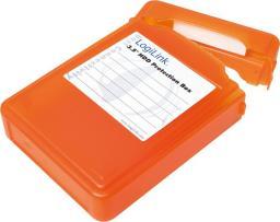 """LogiLink Pudełko ochronne do HDD 3.5"""" pomarańczowe (UA0133O)"""
