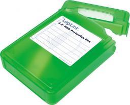 "LogiLink Pudełko ochronne do HDD 3.5"" zielone (UA0133G)"