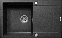 Deante Zlewozmywak 1-komorowy Rapido z ociekaczem 49 x 78cm grafitowy (ZQK_2113)