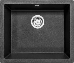 Deante Zlewozmywak 1-komorowy Corda podblatowy 46 x 55cm grafitowy (ZQA_G10C)