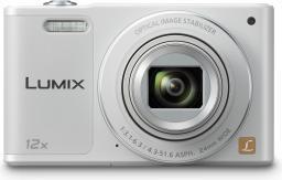 Aparat cyfrowy Panasonic Lumix DMC-SZ10 Biały (DMC-SZ10EG-W)
