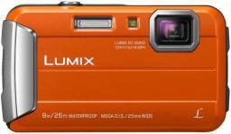 Aparat cyfrowy Panasonic Lumix DMC-FT30 Pomarańczowy (DMC-FT30EG-D)