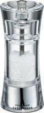 Młynek do przypraw Zassenhaus Młynek Zassenhaus Aachen do soli, śred. 5,8x14 cm, akrylowy
