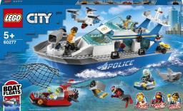 LEGO City Policyjna łódź patrolowa (60277)