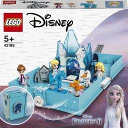 LEGO Disney Princess Książka z przygodami Elsy i Nokka (43189)