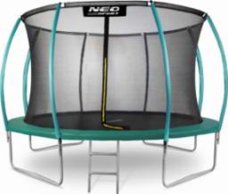 Neo-Sport Trampolina ogrodowa z siatką wewnętrzną 12FT 374cm